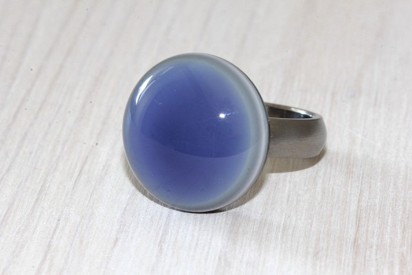 Ring-Top tansaniteblau