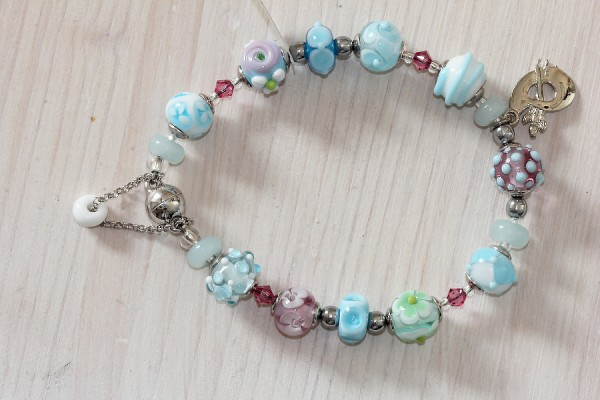Armband Sommeraquarell